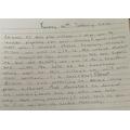 Raaina's Literacy - Writing a speech