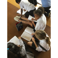 Measuring the amplitude of sound around the school 12.5.21