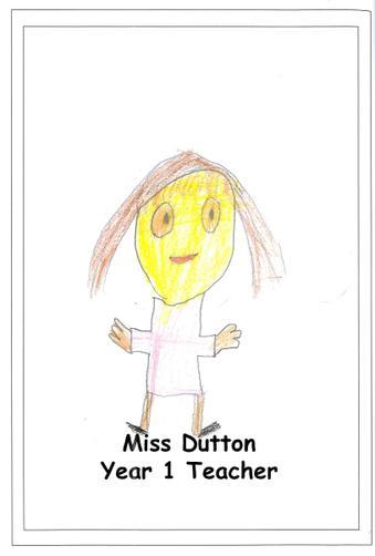Miss Dutton - Year 1 Teacher