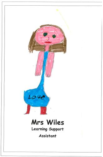 Mrs Wiles - Teacher and LSA Year 3