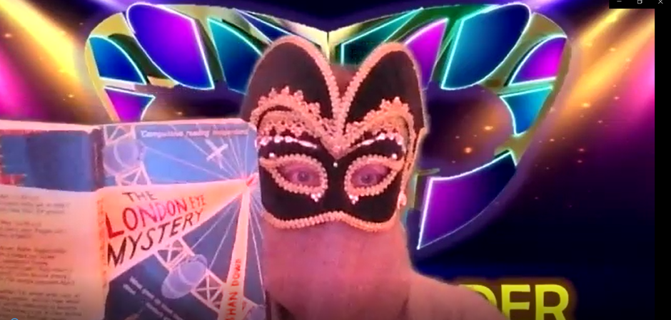 Click the link below for today's masked reader video!