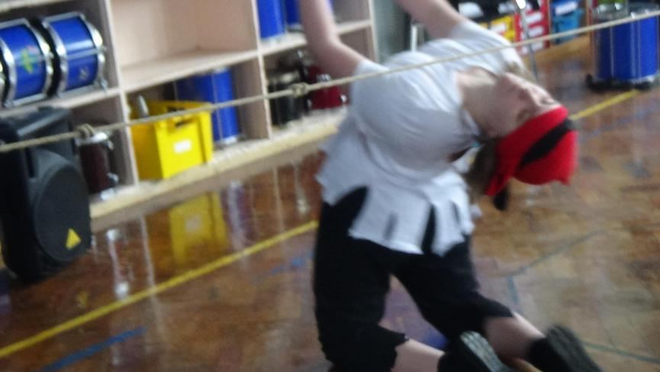 Limbo dancing!