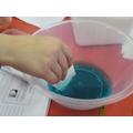 Antibacterial liquid was needed