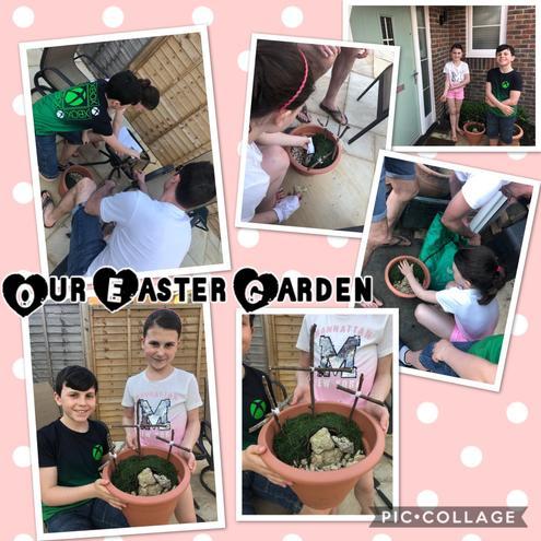 Molly's Easter Garden