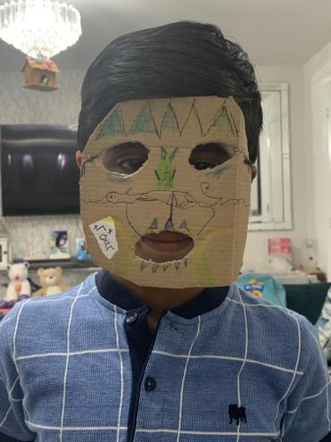Hritvik's Mask