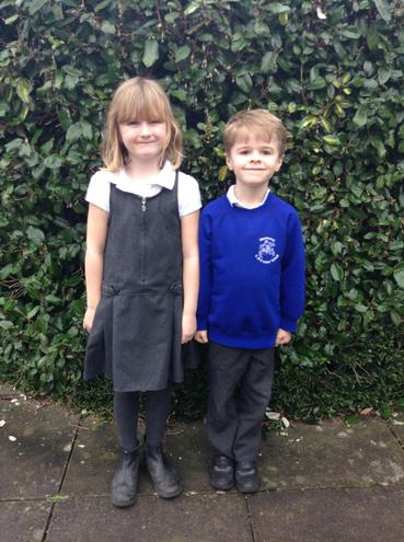 Rowan Class - Isla and Oliver
