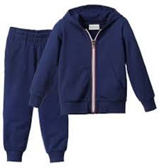Tracksuit top and Bottoms