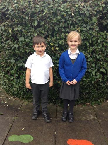 Birch Class - Edward and Eira