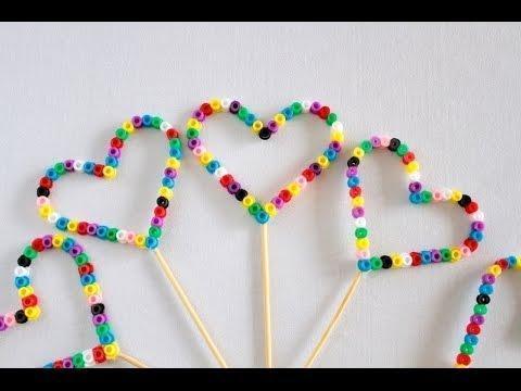 Create shapes using Hama Beads
