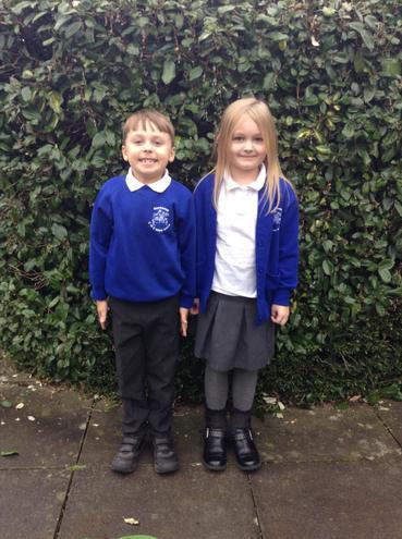 Sycamore Class - Joshua and Evie