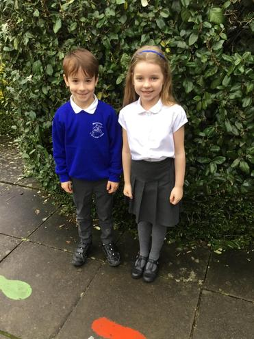 Beech Class - Liam and Poppy-Meadow