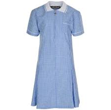 Summer Dress - Blue and White Gingham
