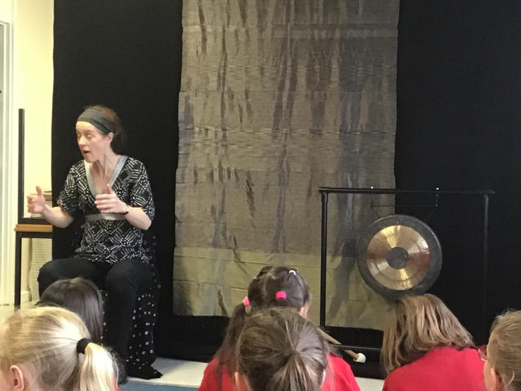 A visit by an amazing storyteller
