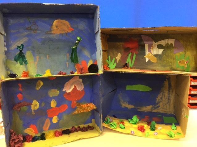 Under the Sea habitats project