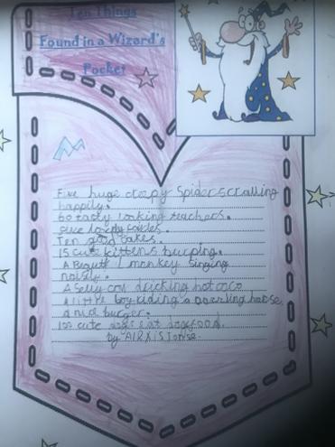Alexis' fantastic poem