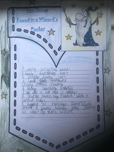 Zara's brilliant poem