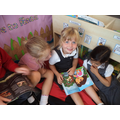 We have enjoyed time in the story corner.