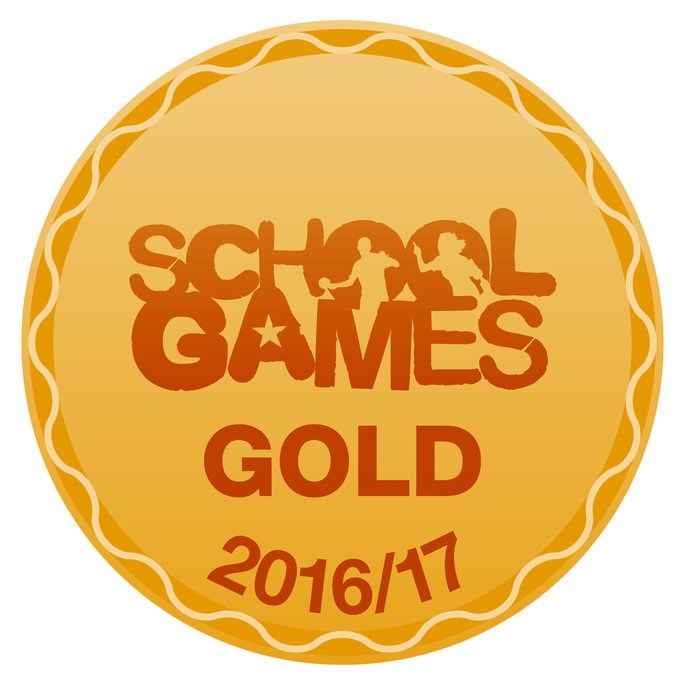 Congratluations everyone: GOLD School Games Mark