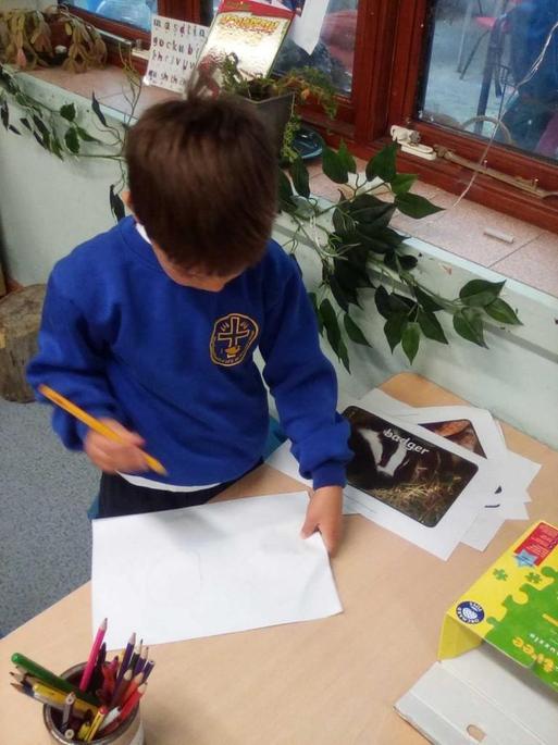 Drawing and mark making