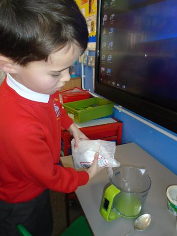 Mummifying an apple!