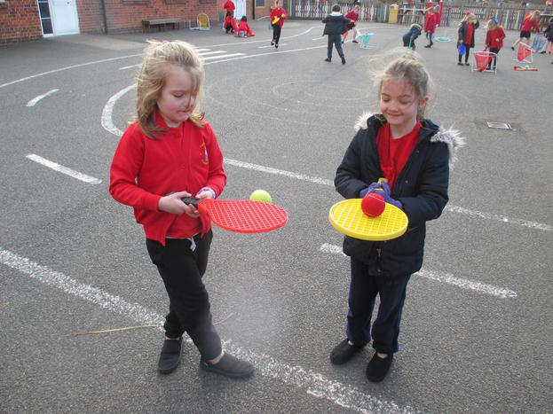 We have been balancing and controlling the ball