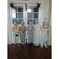 We will make a mummy out of you!
