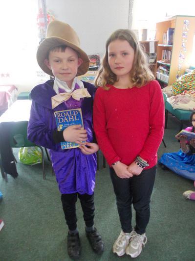 Willy Wonka and Veruca Salt