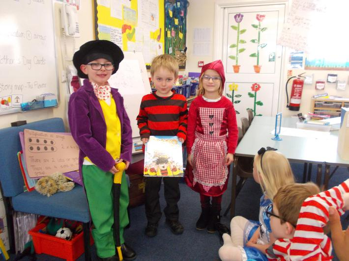 Willy Wonka, Dennis the Menace & Red Riding Hood