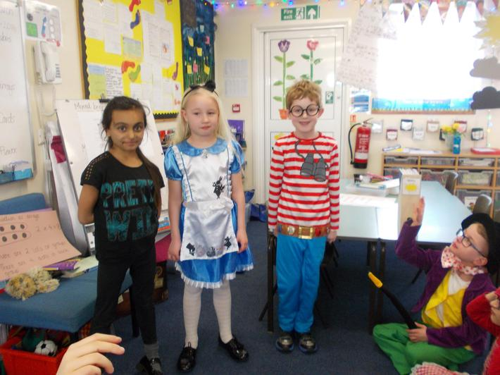 Cat Woman, Alice in Wonderland and Where's Wally