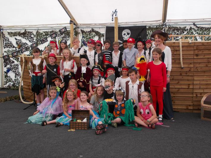 Summer Performance 2015 'Pirates!'