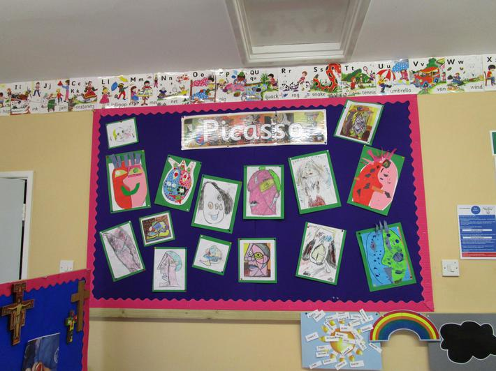We have been learning about Pablo Picasso