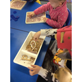 Creating letter shapes