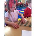 Exploring materials!