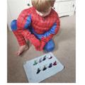 Using Superheroes when practising double 4!