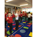 Today we looked at how exercise has an effect on our bodies
