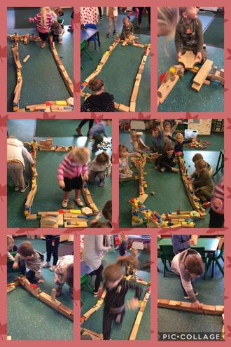 Communication and collaboration has enabled the children to build the Houses of Parliament