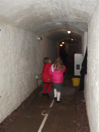 Inside the 'whistling tunnel'
