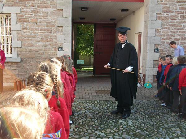 He kept showing us 'Mr Cane'.
