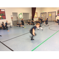 We were animals and worked on speed and agility.