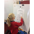 We had to complete tasks to break the code!