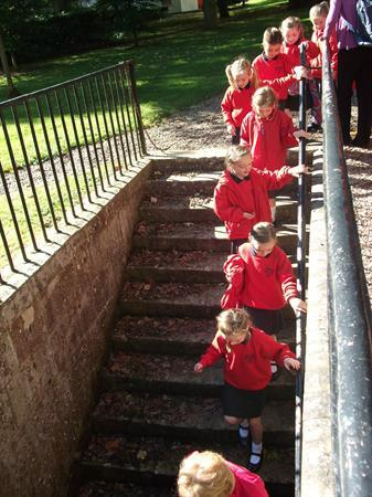 Going down to the 'whistling tunnel'