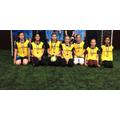 Marland Hill Girls Football Team