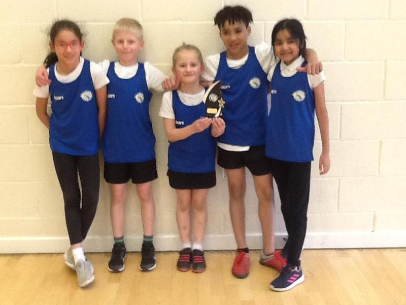 LKS2 Netball IPLCN winners. Well done