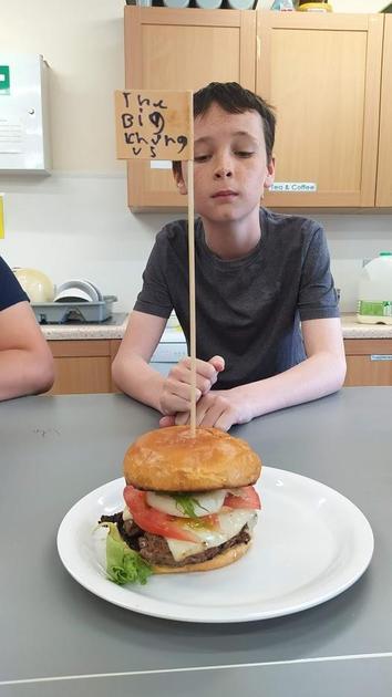 Bake-off Week 3 was Gourmet Burger Week