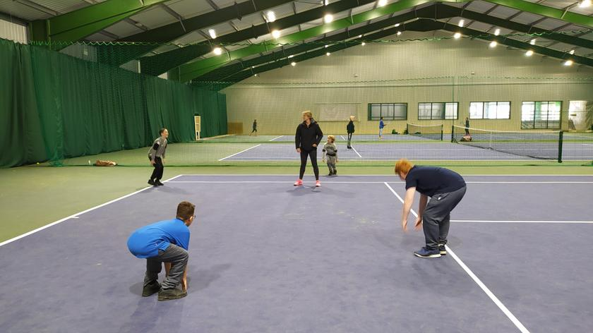 Tennis lessons at ARC Bideford