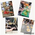Making pasta dishes