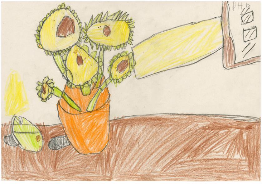 Some fantastic art - Van Gogh's Sunflowers