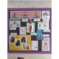 Our Circulatory and Respiratory display including our fantastic work