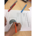 Consolidating our learning post-experiment through written work and visuals (pie charts)