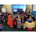 The children all looked 'spook - tacular' in their costumes!